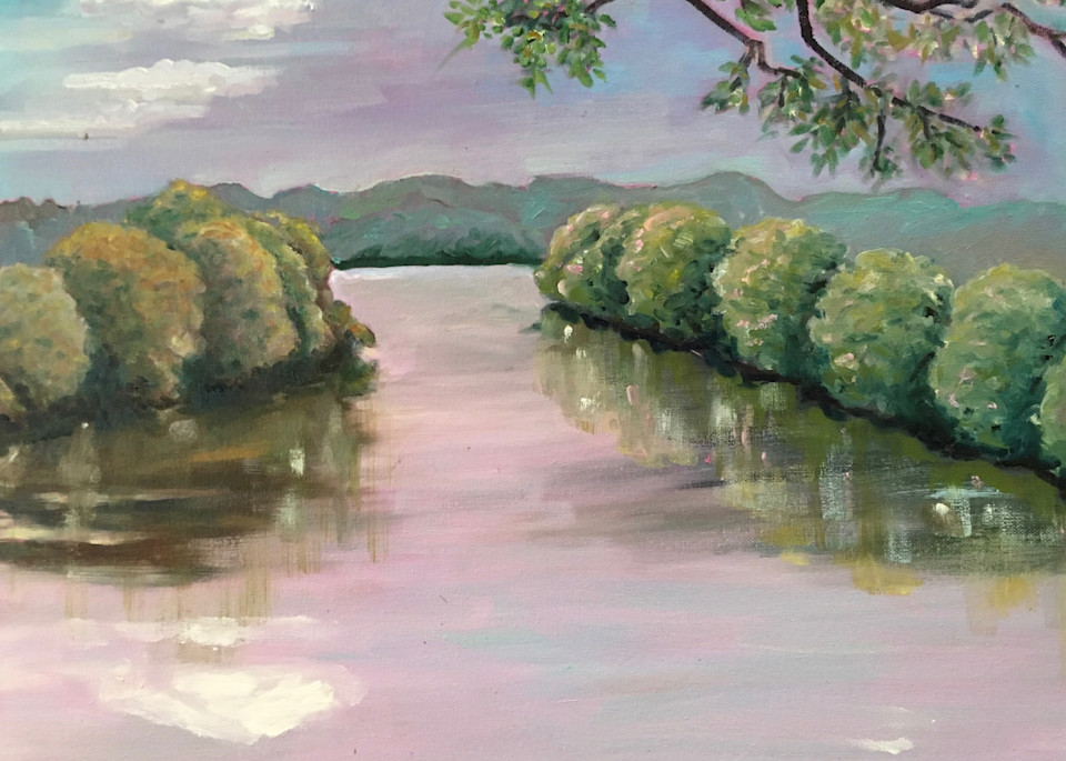 Missouri River, Judy's View Art | Wild Ponies creations