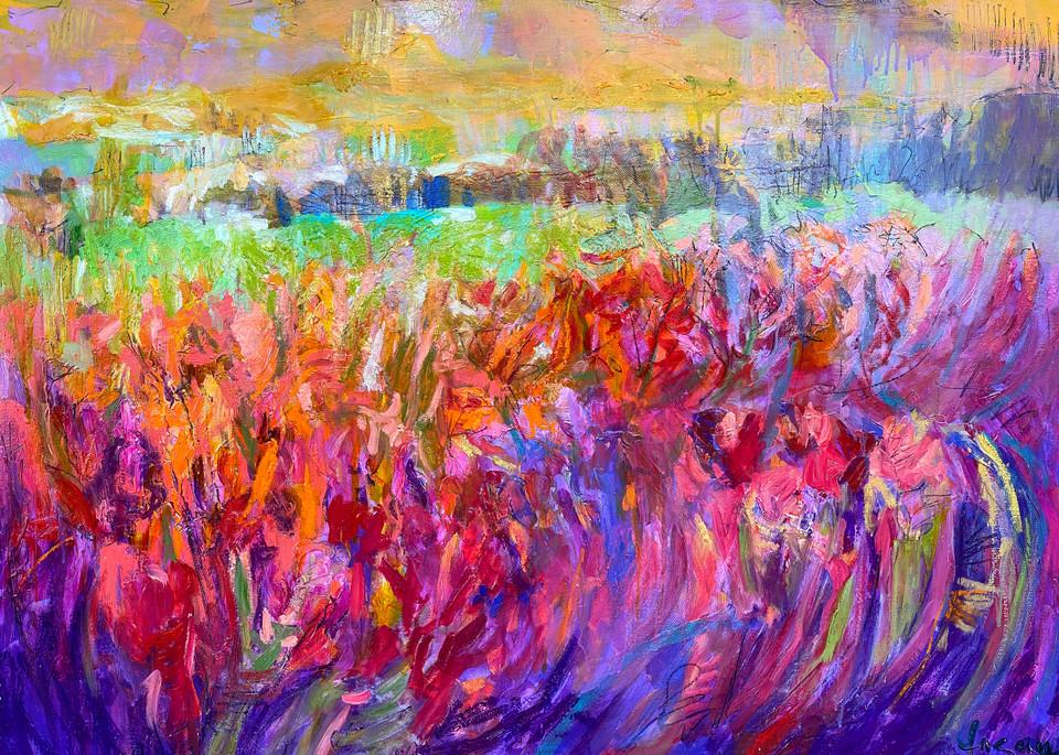 Iris Essence  Art   Dorothy Fagan Joy's Garden