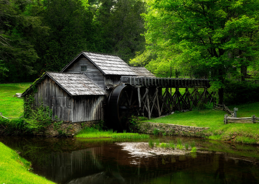 Mabry Mill - Blue Ridge Parkway fine-art photography prints