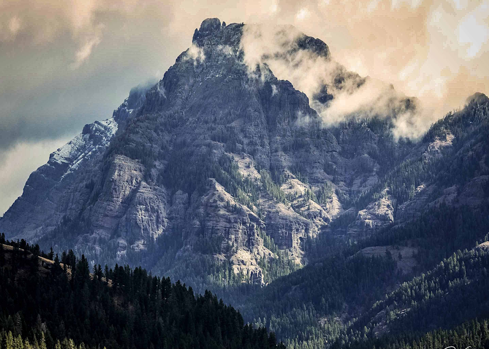 Bear Tooth Mountains Art   Cutlass Bay Productions, LLC