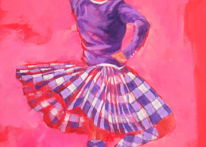 Dancer Study No 1 Art | Lesley McVicar Art