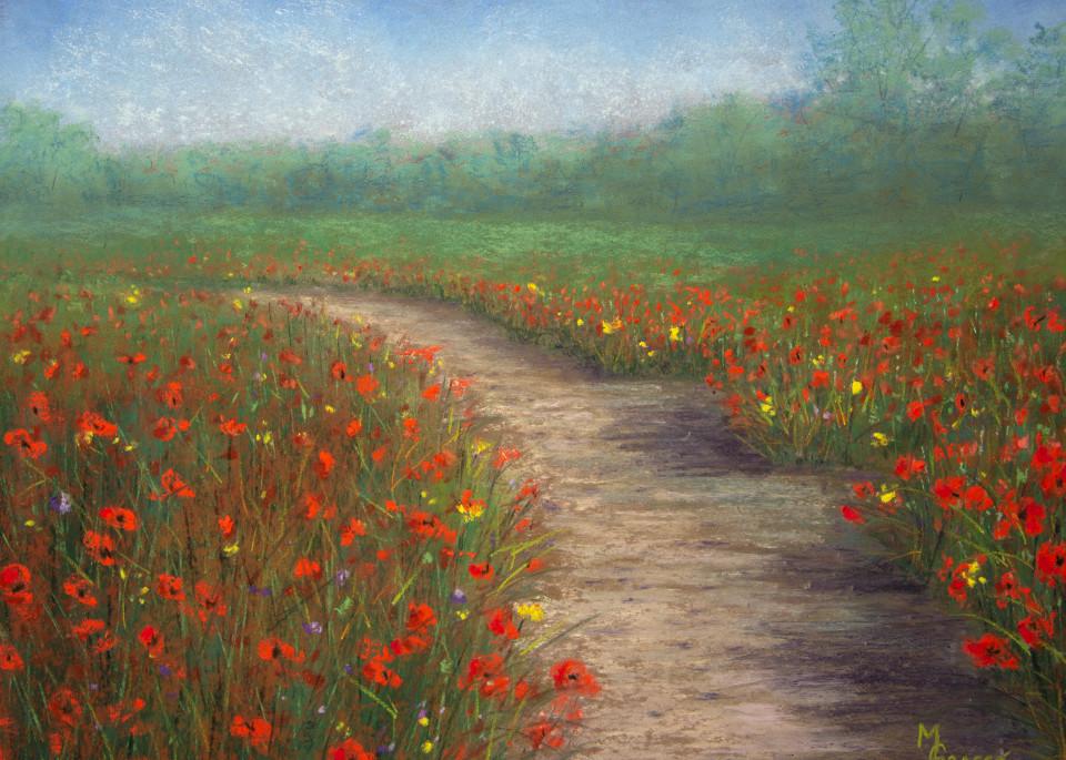 Poppy Love  Art   Mark Grasso Fine Art