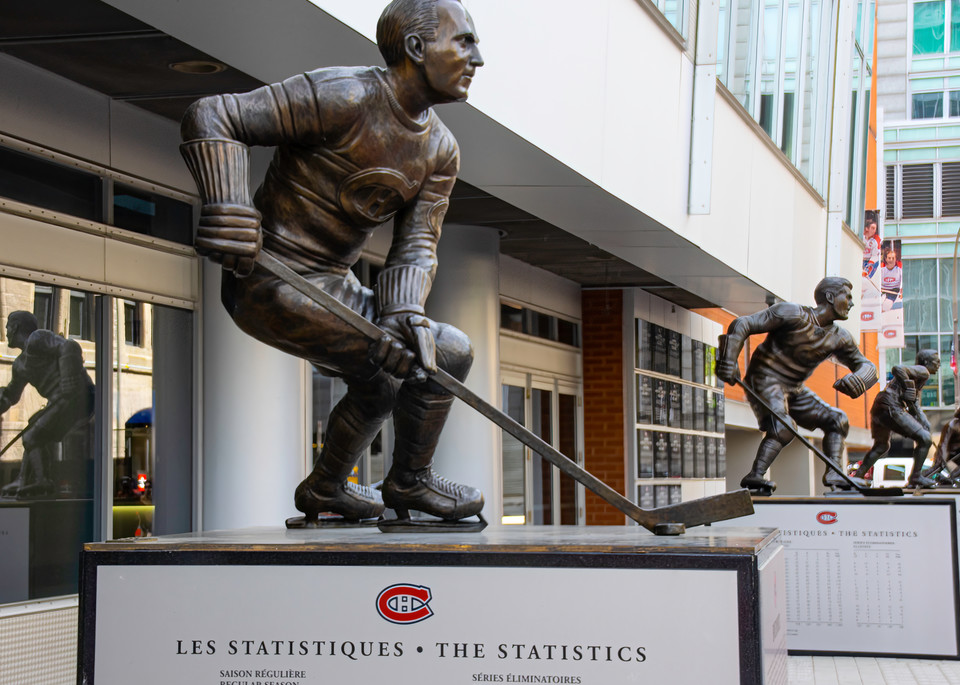 Montreal Canadiens Sports Arena Photography Art | Kathleen Messmer Photography