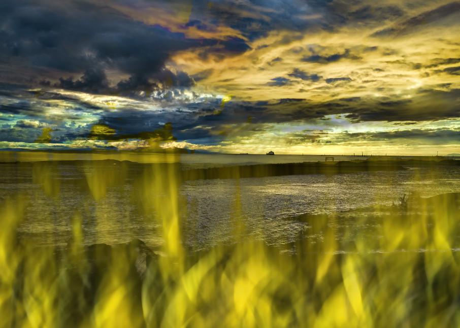 Garry Point Sunset 2 Art | KJ's Studio