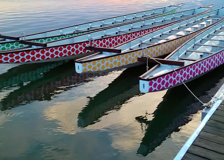 Dragon Boats Wearable Art | Joan Furlong | Vox Loci Studio