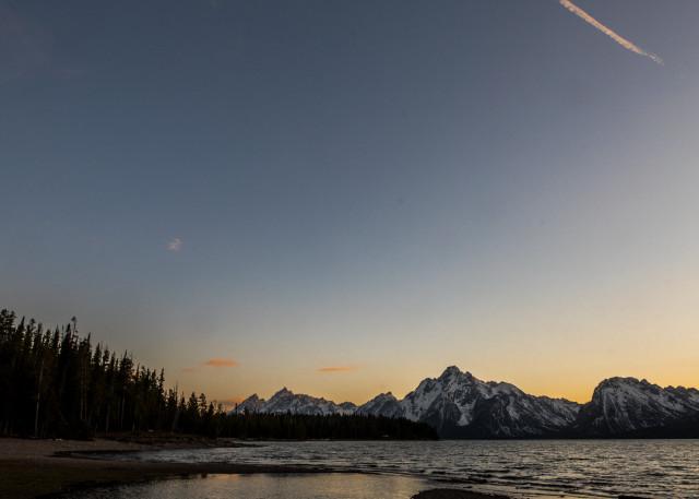 Skylines Grand Teton National Park Photography Art | Colorado Born Images