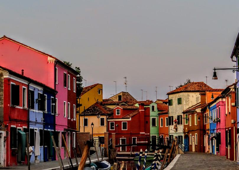 Sunset On Burano, #4 Photography Art | Photoissimo - Fine Art Photography