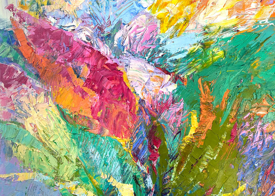 Light as a Feather Canvas Art Prayer Print by Dorothy Fagan