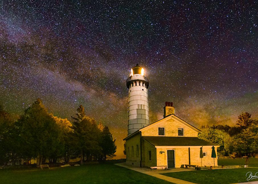 Cana Island Lighthouse and the Milky Way II