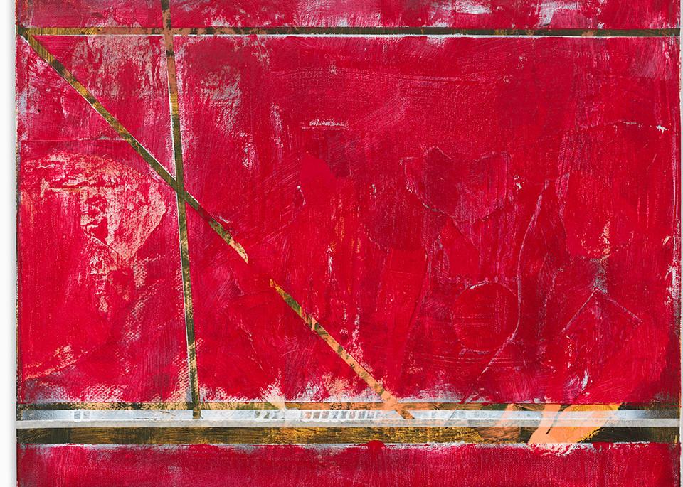 Blue  Red Runway Art   Art Impact® International Inc