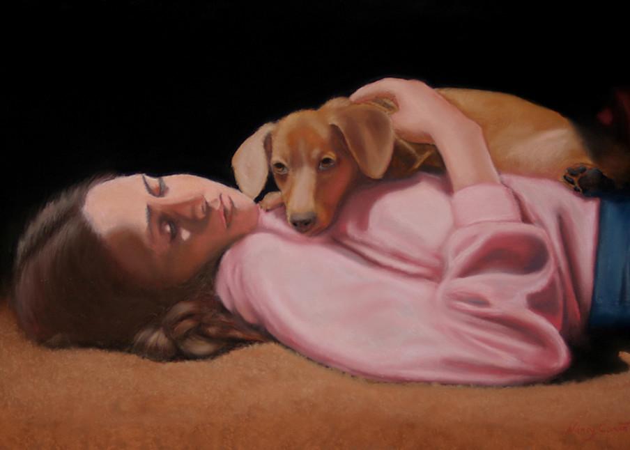 artist self portrait, On My Own by Nancy Conant