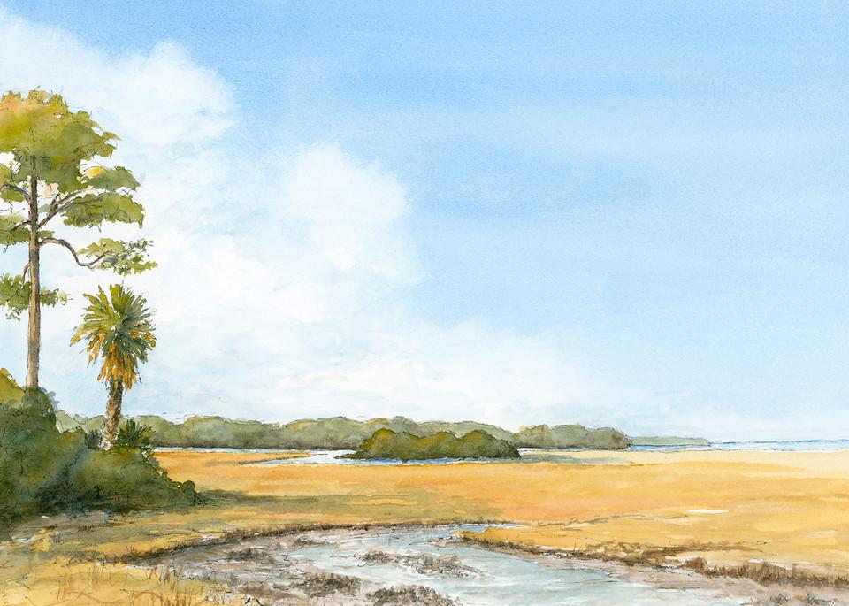 Low Country Low Tide Art | Digital Arts Studio / Fine Art Marketplace