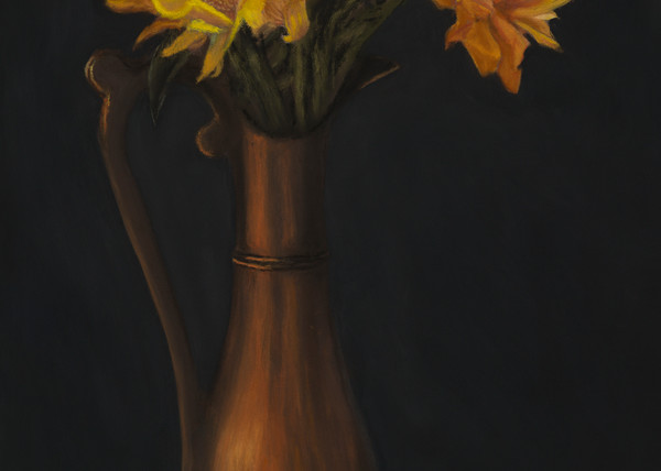 Painted Sunflowers by Nancy Conant