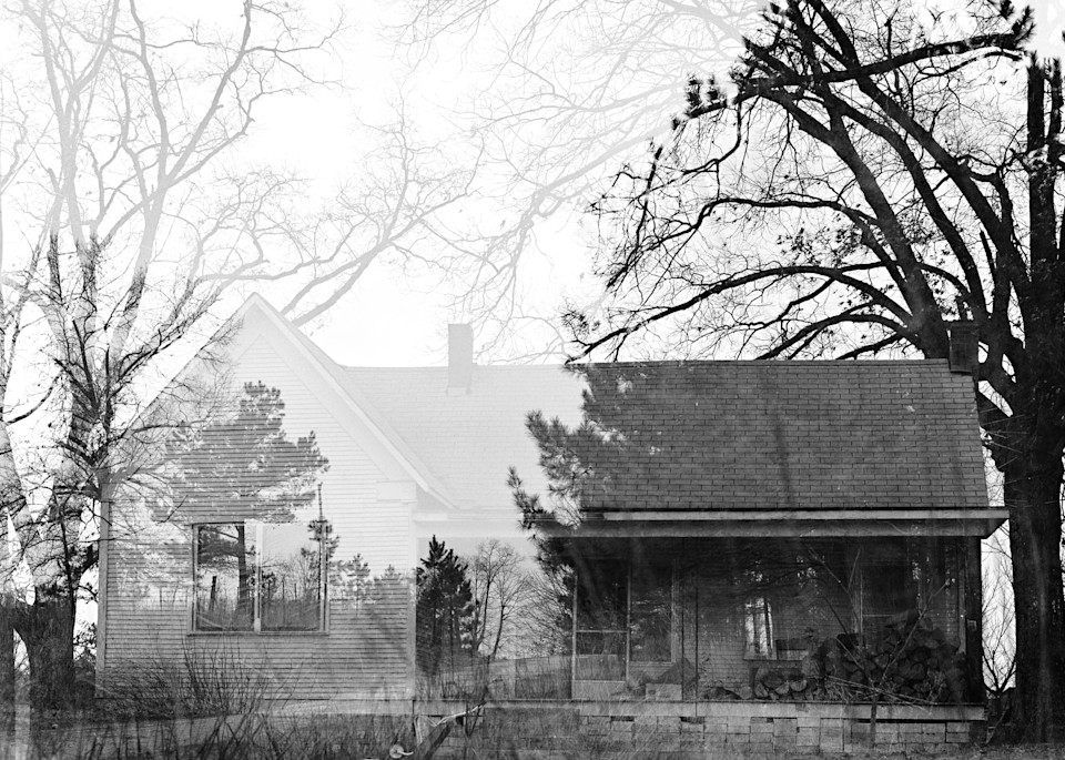 Arkansas Ghost House Photography Art | TERESA BERG PHOTOGRAPHY
