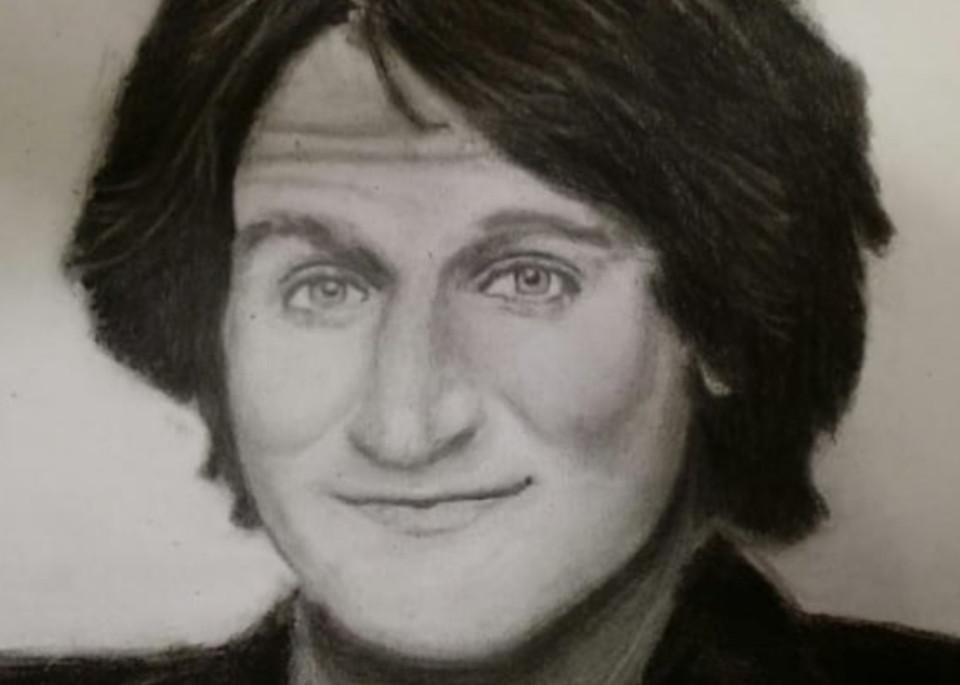 Robin Williams Art   Salvatore Ingoglia / Jbellarts
