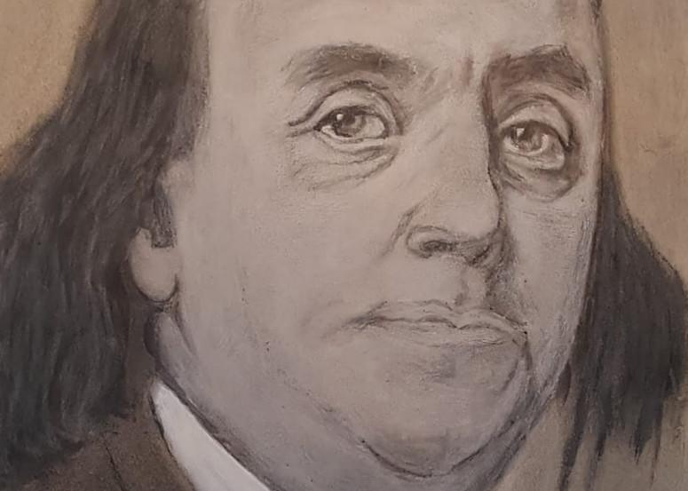 Benjamin Franklin Art | Salvatore Ingoglia / Jbellarts