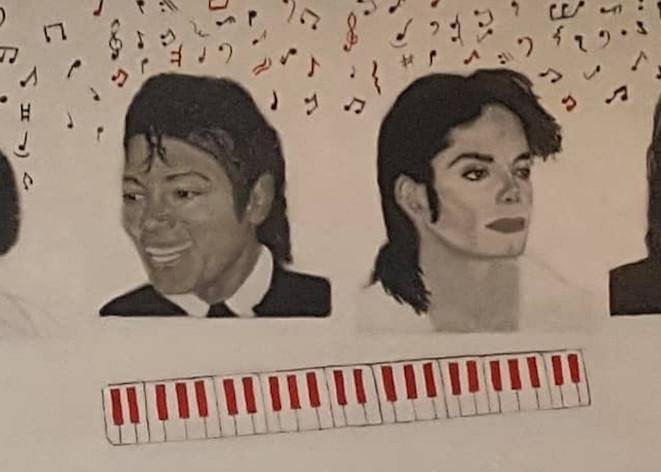 4 Michael Jackson S Art   Salvatore Ingoglia / Jbellarts