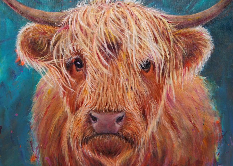 Heilan Coo Art | Lesley McVicar Art