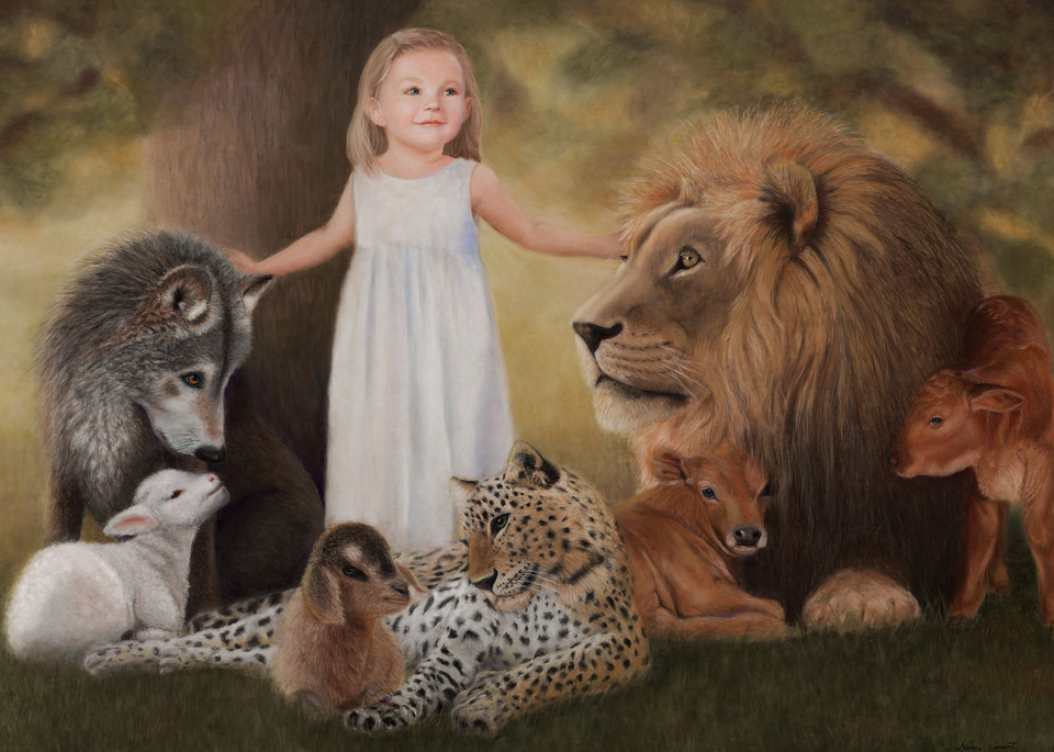 His Peaceable Kingdom - Isaiah 11:6