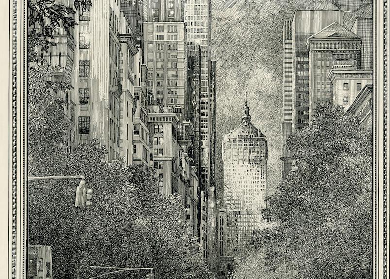 Ny Central Building Terminal City Art   Andre Junget Illustration LLC