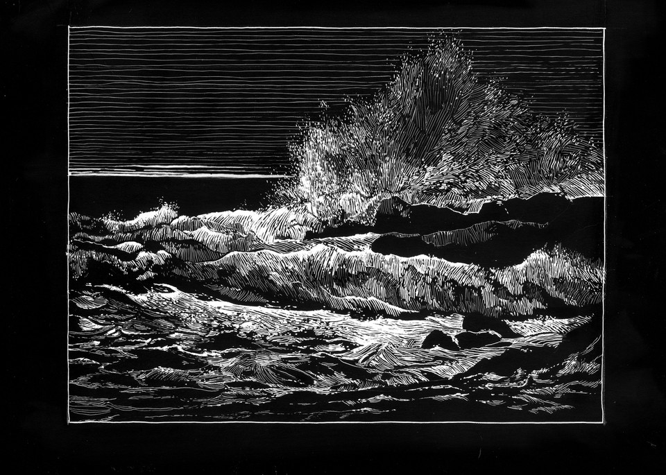 Spirits In Bondage Art | Andre Junget Illustration LLC