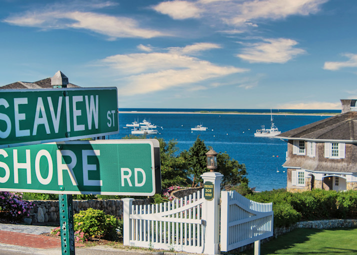 Shore At Seaview Photography Art | The Colors of Chatham