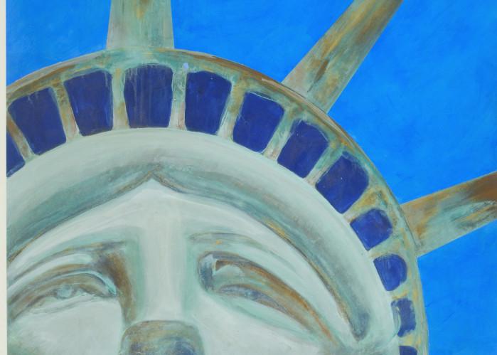 Ms Liberty Art   Joan Bixler Art