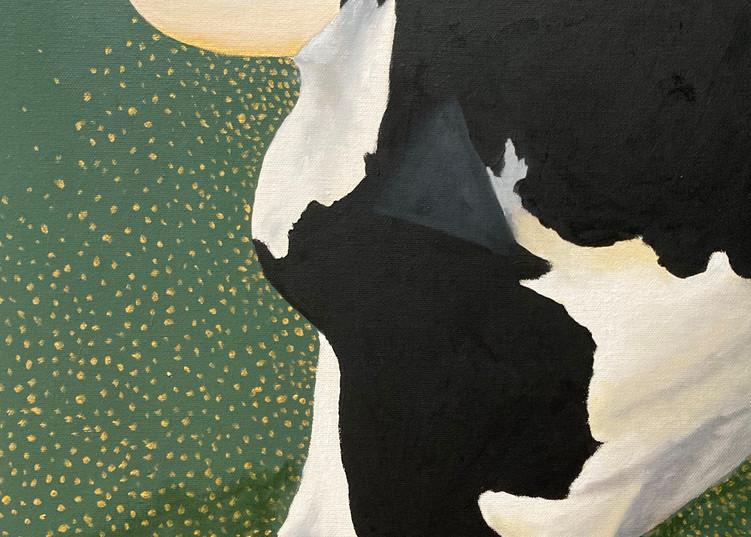 La Jolie Vache Vii Art   David R. Prentice