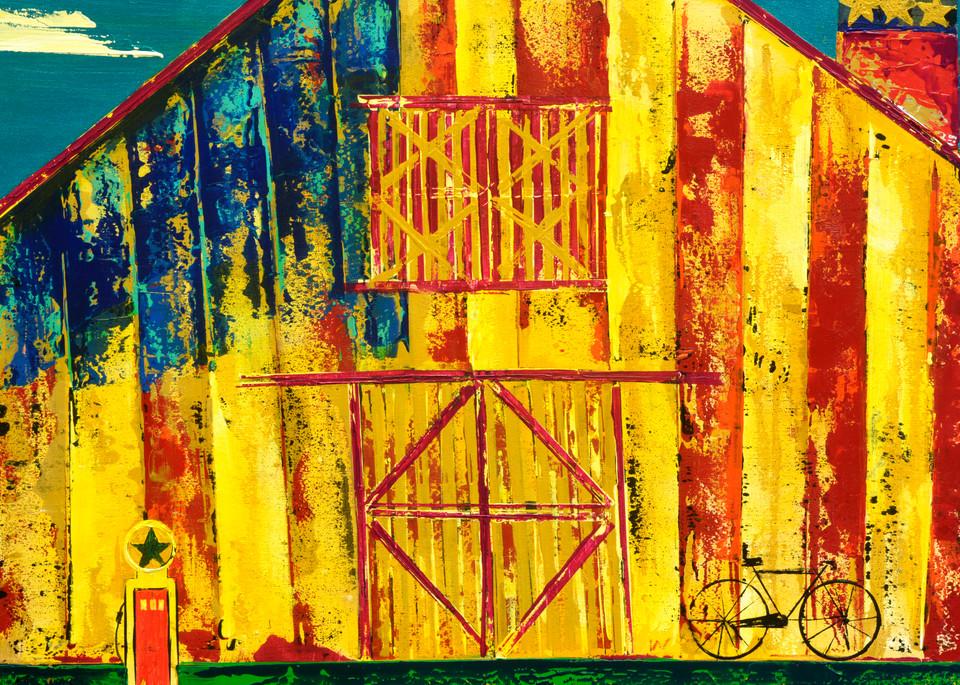 American Barn  Art | benbonart