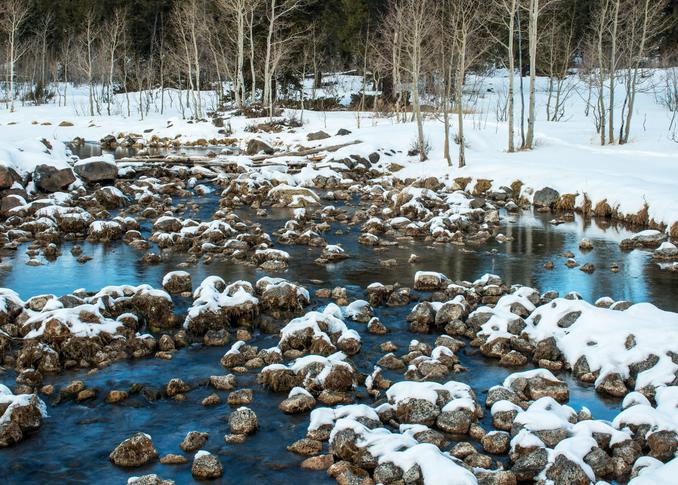 Winter Reflections Photography Art   Craig Primas Photography