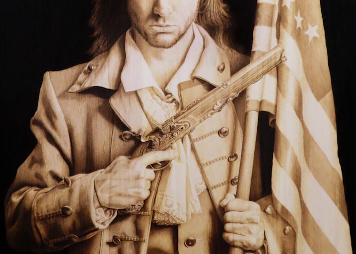 American Patriot Art | Minisa Pyrography