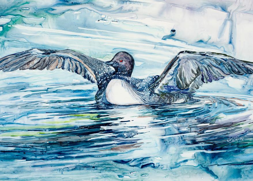 Call Up A Storm Art   Karen Bishop Artist