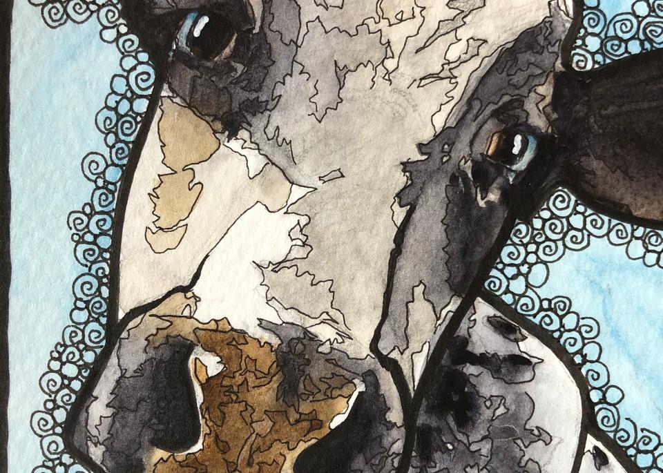 Moo 01 Art | Water+Ink Studios