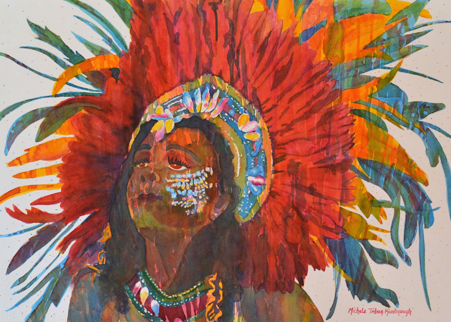 4. Queen Agnes   Crucian Carnival Series Iv Art | Michele Tabor Kimbrough