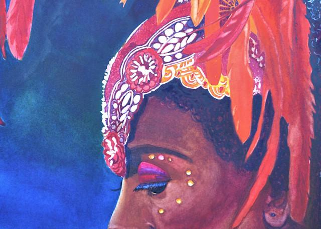 11. 1st Daughter Ada   Cruscian Carnival Series Xi Art | Michele Tabor Kimbrough