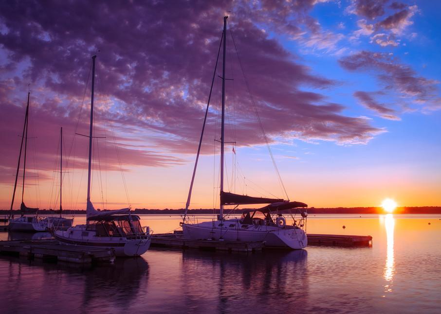 Dawning Promise - Lake Champlain sunrise fine-art photography prints