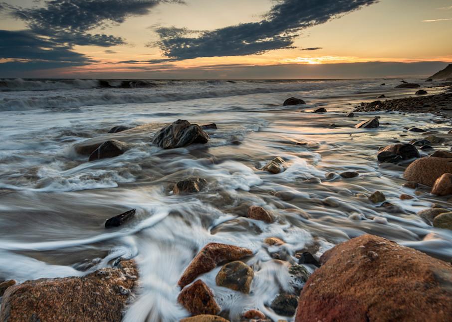 Aquinnah Sunset Martha's Vinyard Art | marcyephotography