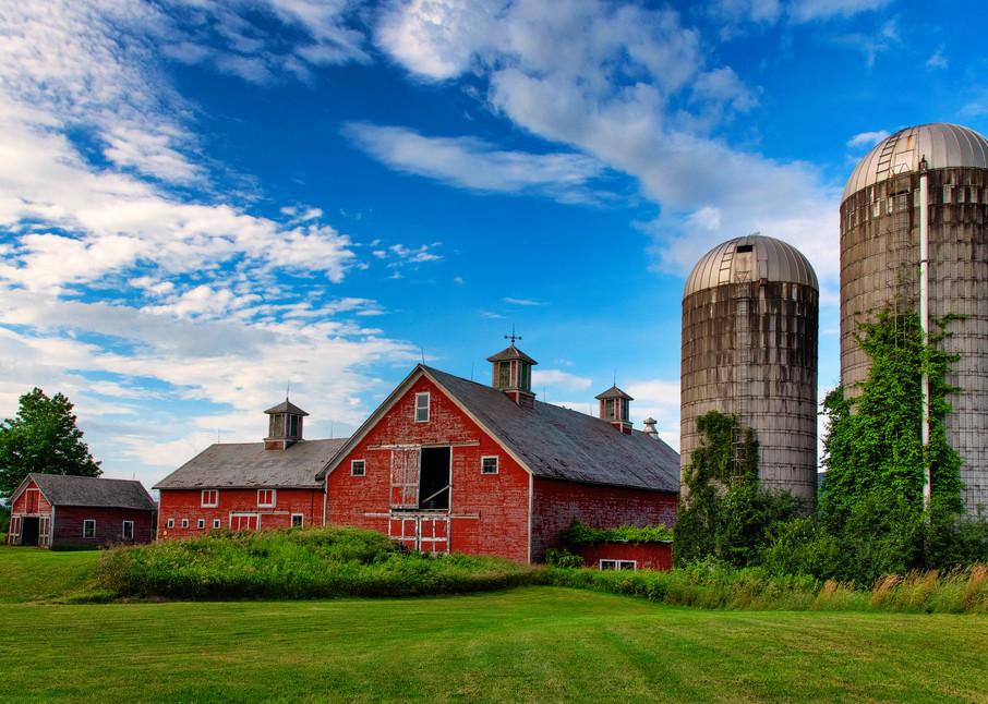 Vermont Dairy Farm - New England fine-art photography prints