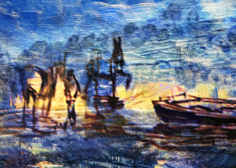 Gogh Seashore Art   KJ's Studio