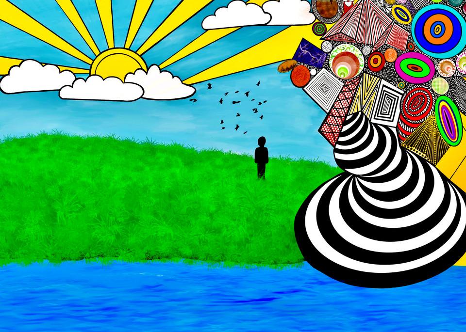 Aquarius/Let The Sunshine In Art | CJ Harding