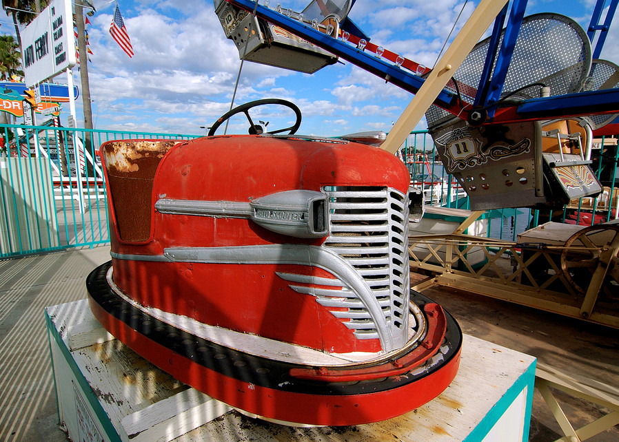 Balboa Bumper Car 2006 Art | Shaun McGrath Photography