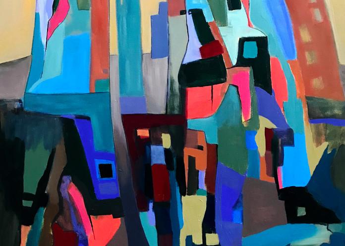 Intersections Art | Judith Visker Art