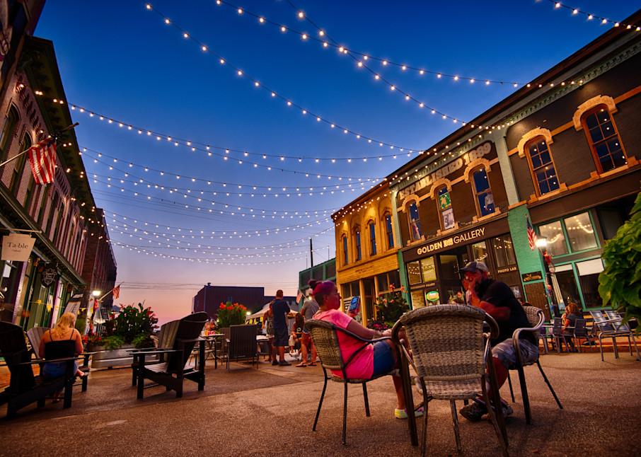 Summer Night At Third Street