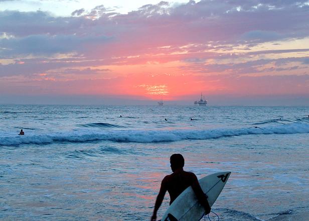 Sunset Surfer 2004 Art | Shaun McGrath Photography