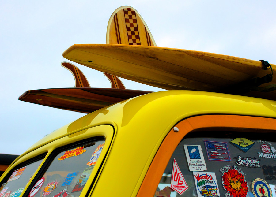 Woody Surfboards Art   Shaun McGrath Photography