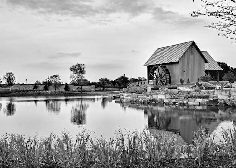 Water Mill 3 B W 3 Photography Art | Drone Video TX