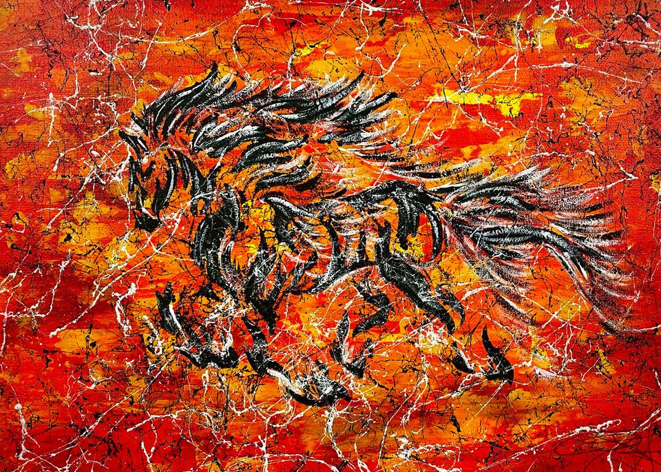 Inferno Art | Anthony Joseph Art Gallery