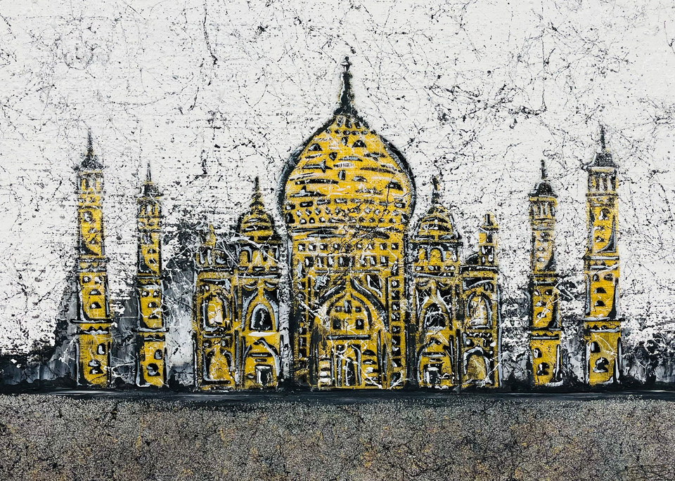 Crown Of The Palace Art | Anthony Joseph Art Gallery