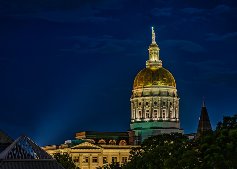 Capitol Building During Covid