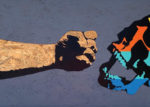 Fist & Skull, Print Art | Jon Savage Contemporary Art